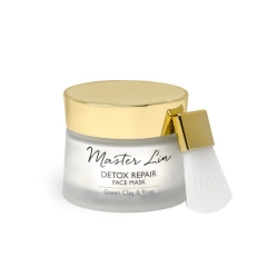 Master Lin - Detox Repair Face Mask - Green Clay & Rose